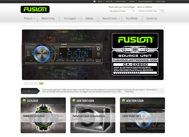 Fusion Electronics - Website Design and Development