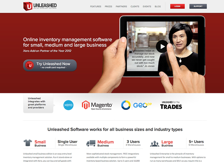 Unleashed Software - Website Design and Development